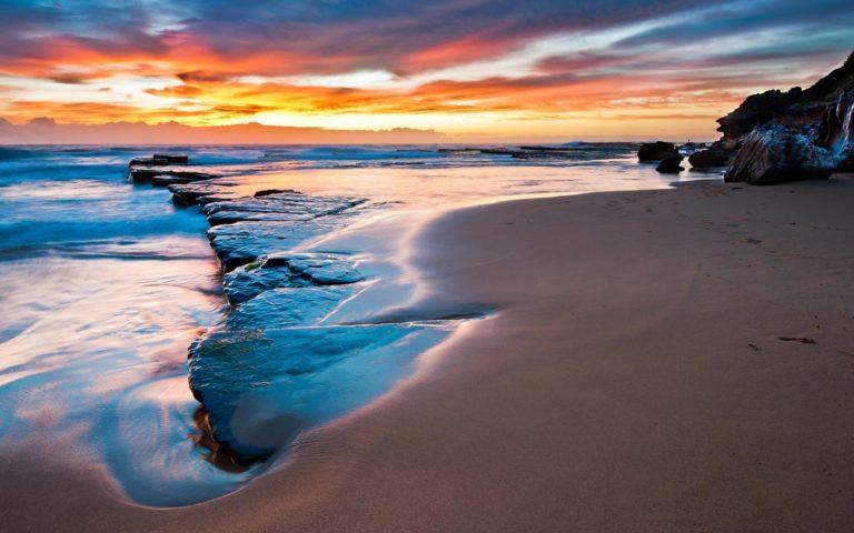 Beach Empty Widescreen Wallpaper 1920x1200 768x480