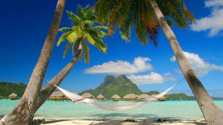 Beach Rest View Wallpaper 1920x1080 768x432