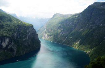 Beautiful Fjord Norway Wallpaper 1920x1200 340x220