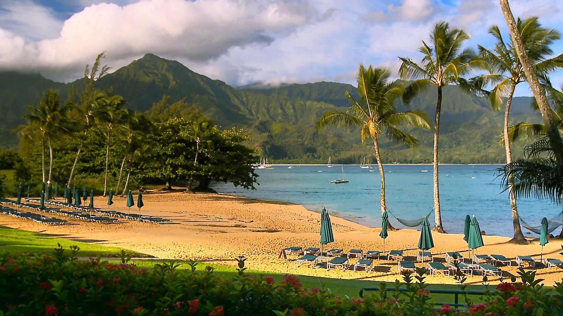 Beautiful Hawaiian Beach Wallpaper 1920x1080