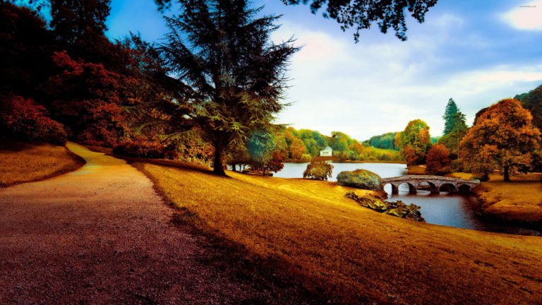 Beautiful Park 4K Wallpaper 3840x2160 768x432