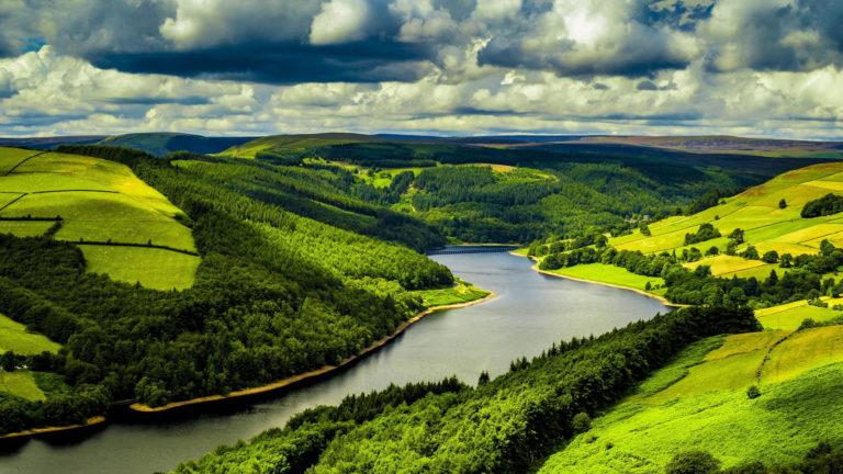 Beautiful River Mountains 4K Wallpaper 3840x2160 768x432