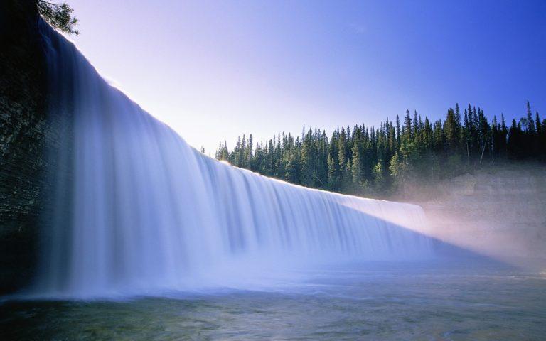 Beautiful Waterfall Backgrounds Wallpaper 768x480