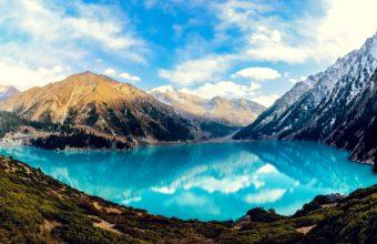 Big Almaty Lake Wallpaper 2560x1600 340x220