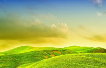Bright Landscape Wallpaper 1920x1080 340x220