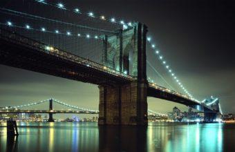 Brooklyn Bridge NYC Wallpaper 1920x1200 340x220