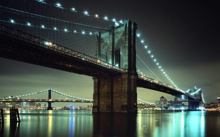Brooklyn Bridge NYC Wallpaper 1920x1200 768x480