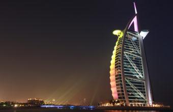 Burj Al Arab 4K Wallpaper 3840x2160 340x220