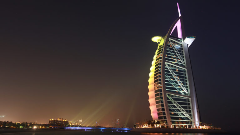 Burj Al Arab 4K Wallpaper 3840x2160 768x432