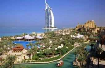 Burj Al Arab Hotel Dubai Wallpaper 1600x1200 340x220