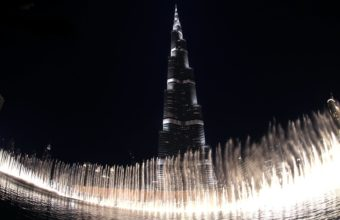 Burj Khalifa The Dubai Fountain Wallpaper 1920x1080 340x220