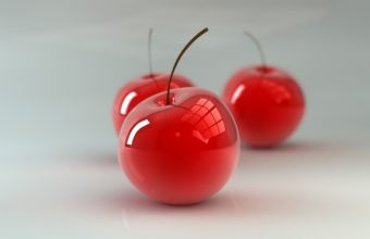 Cherry Berry 3d Wallpaper 340x220