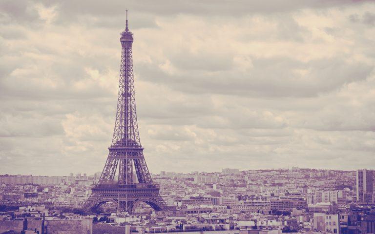 City Eiffel Tower Paris France Wallpaper 1920x1200 768x480