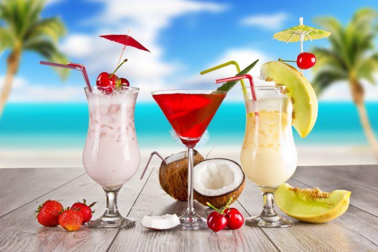 Cocktail Fruit Summer Wallpaper 1350x900 768x512