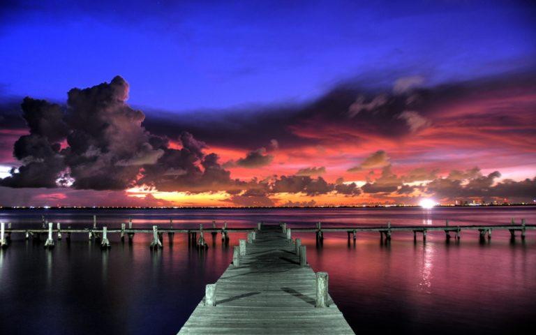 Colourful Summer Sunset Wallpaper 2880x1800 768x480