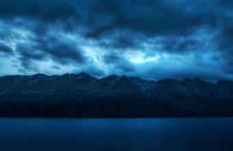 Coludy Mountains Nature Wallpaper 2560x1600 340x220