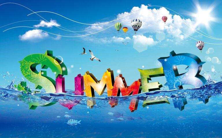 Cool Summer Wallpapers 768x480