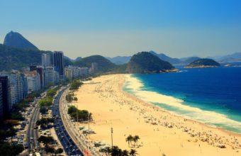 Copacabana Rio De Janeiro Wallpaper 1920x1200 340x220