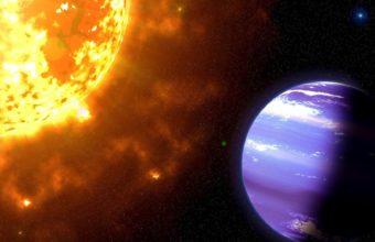 Cosmos Sun Planets Wallpaper 1920x1060 340x220