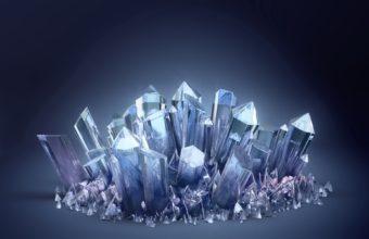 Crystal Glass Light Wallpaper 340x220