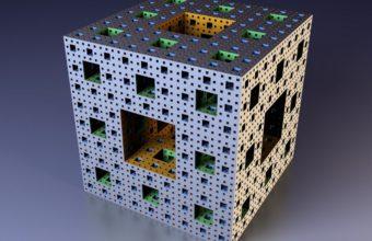 Cube Fractal Mandelbrot Wallpaper 340x220