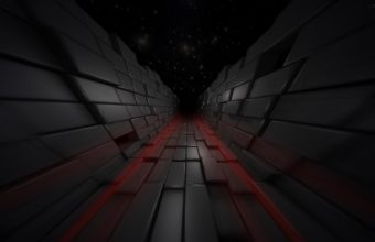 Cubes Flight Movement Wallpaper 340x220