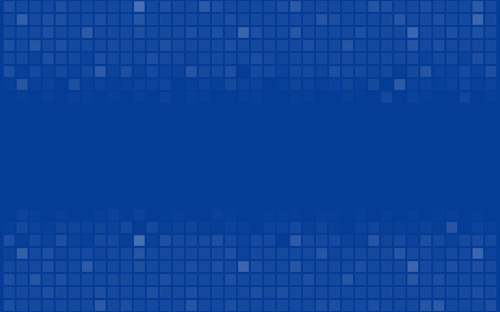 Cubes Point Blue Wallpaper [1920x1200]
