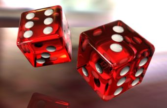 Dice Game Red Wallpaper 340x220