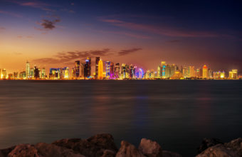Doha City 4K Wallpaper 3840x2160 340x220