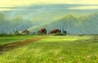 Dream Village Wallpaper 1680x1050 340x220