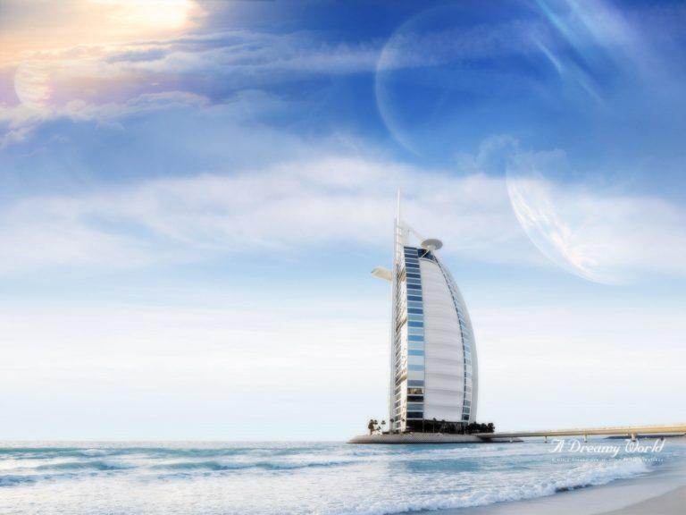 Dubai Dreamy World Wallpaper 1600x1200 768x576