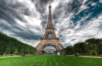 Eiffel Tower Park Wallpaper 1920x1080 340x220