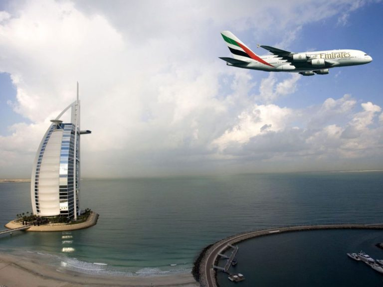 Emirates Dubai Burj Al Arab Wallpaper 1600x1200 768x576