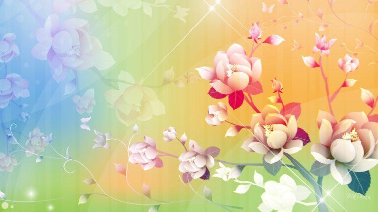 Feel Spring So Light Wallpaper 1920x1080 768x432
