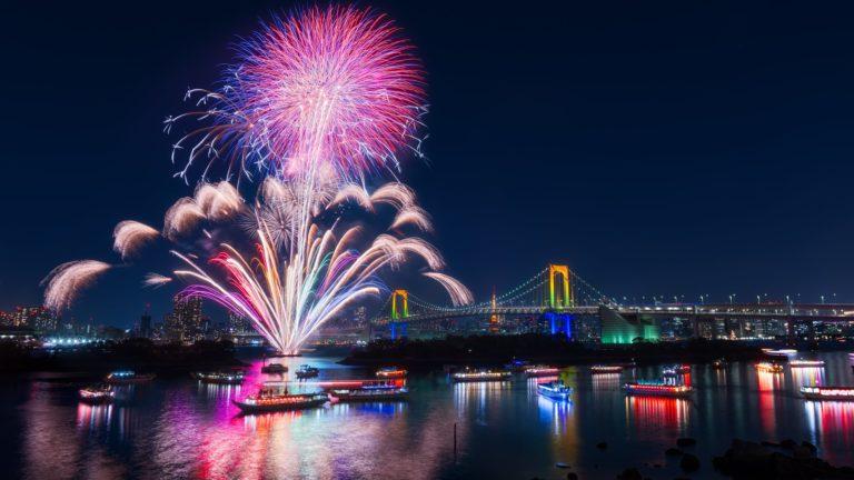 Fireworks 4K Wallpaper 3840x2160 768x432