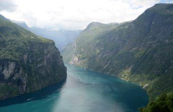 Fjord Of Art Wallpaper 2560x1600 340x220