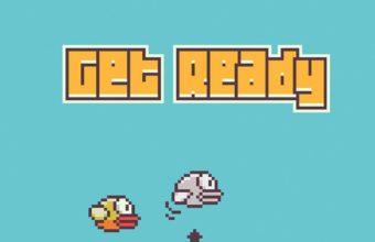 Flappy Bird iPhone 7 Wallpaper 340x220