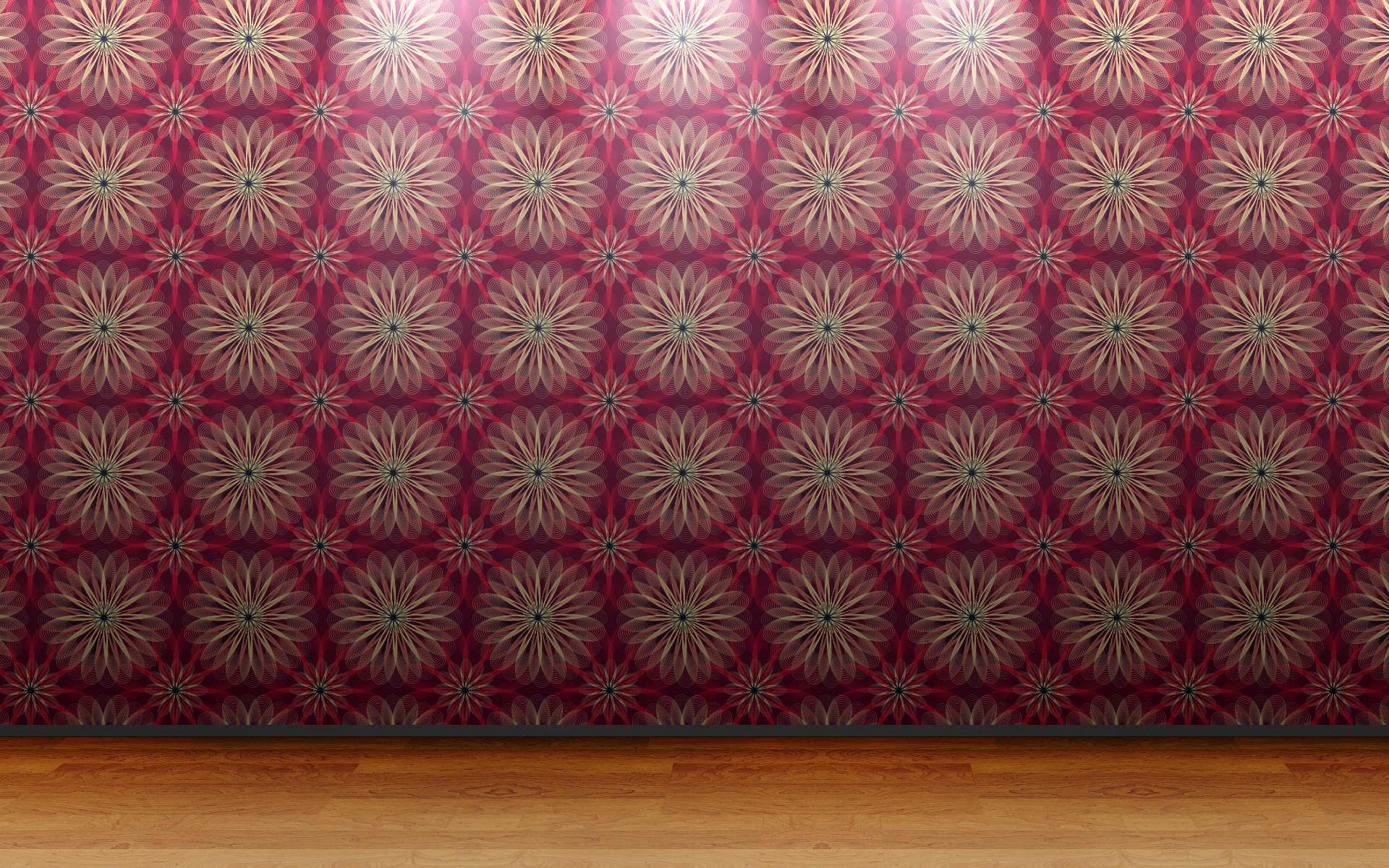 Floor 3D View Wall Room Patterns Wallpaper 1920x1200