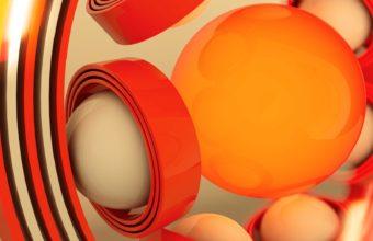 Form Ball Plastic Wallpaper 340x220