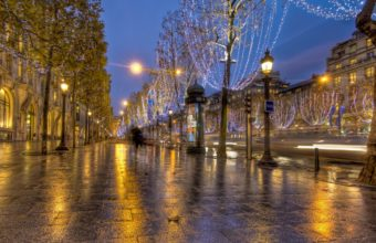 France Paris Road Wallpaper 1269x900 340x220
