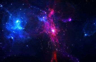 Galaxy Colors 4K Wallpaper 3840x2160 340x220