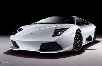 Lamborghini Gallardo White Wallpaper 1920x1200 340x220