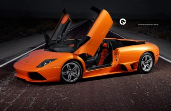 Lamborghini Murcielago Night Wallpaper 1920x1080 340x220