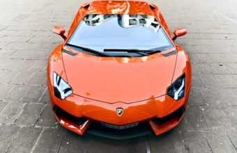 Lamborghini Orange Car Wallpaper 1920x1080 340x220