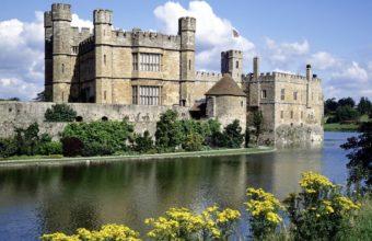 Leeds Castle Kent England Wallpaper 1600x1200 340x220