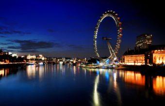 London Eye Wallpaper 2560x1600 340x220