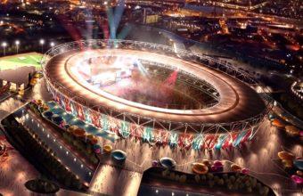 London Olympic Stadium Wallpaper 2200x1375 340x220