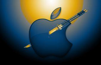 Mac Apple Logo Wallpaper 2482x1525 340x220