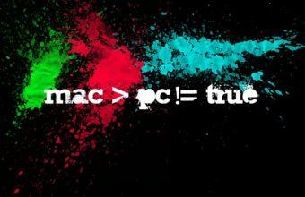 Mac Vs Pc Wallpaper 1440x900 340x220