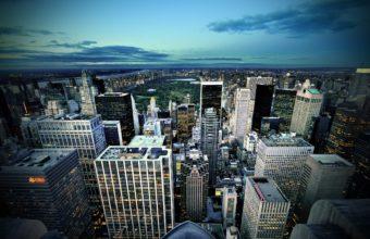 Manhattan New York USA Wallpaper 2560x1600 340x220